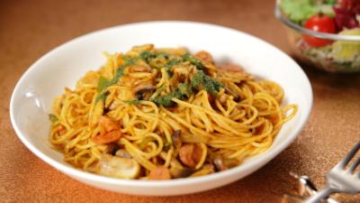 スパゲティ―ナポリタン