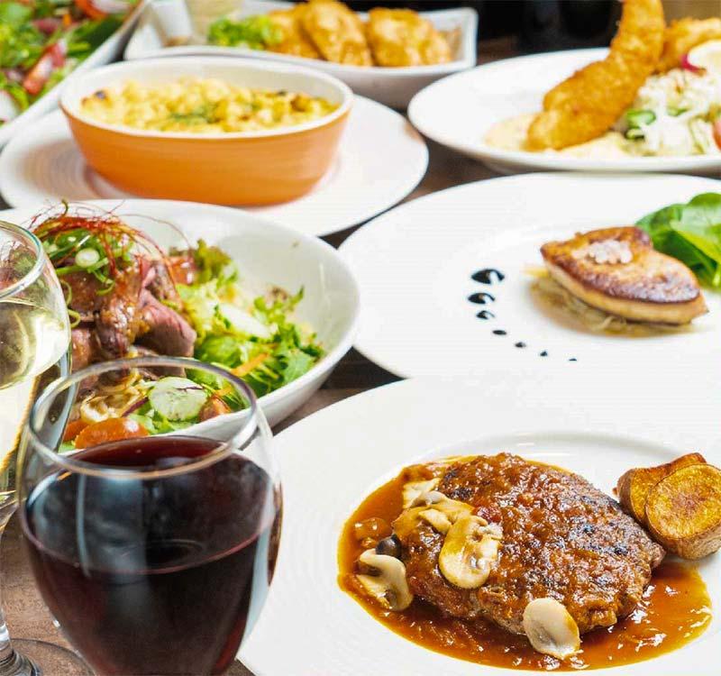 洋食ふくもとのスペシャル宴会コース